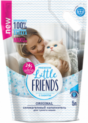 Little Friends Original - наполнитель силикагелевый впитывающий (5 л)