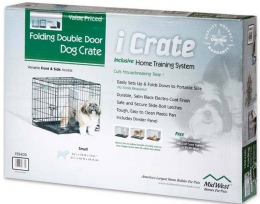 Midwest - клетка для домашних животных iCrate (61 х 46 х 48 см) 2 двери