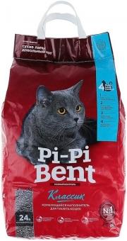 Pi-Pi Bent Классик - наполнитель комкующийся (10 кг)