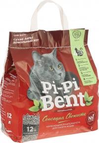 """Pi-Pi Bent - наполнитель комкующийся """"Сенсация свежести"""""""