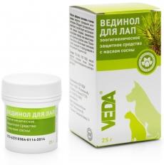 Veda - защитное средство для лап с маслом сосны Вединол (25 г)