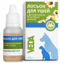 Veda - лосьон для ушей с фитокомплексом (15 г)