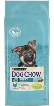 Dog Chow Puppy Large - сухой корм для щенков крупных пород с индейкой