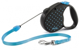 Flexi Color Dog Medium Blue - поводок-рулетка (голубой) 5 м, до 20 кг