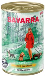 Savarra Adult - консервы для собак с уткой и рисом (395 г)
