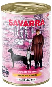 Savarra Adult - консервы для собак с ягненком и рисом (395 г)