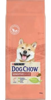 Dog Chow Sensitive - сухой корм для собак с чувствительным пищеварением, с лососем