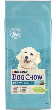 Dog Chow Puppy Lamb - сухой корм для щенков с ягненком