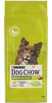 Dog Chow Adult Chicken - сухой корм для собак с курицей