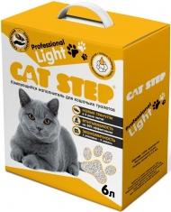 Cat Step Professional Light - наполнитель комкующийся (6 л)