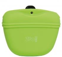 V.I.Pet Zoo One - Сумочка для лакомств силиконовая с магнитным замком (салатовая)