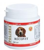 Polidex Recovit - Кормовая добавка для собак для восстановления после заболеваний (150 таб.)
