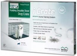 Midwest - клетка для домашних животных iCrate (122 х 76 х 84 см) 2 двери