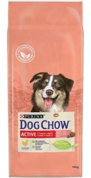 Dog Chow Active - сухой корм для взрослых активных собак с курицей