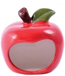 "КерамикАрт - домик для грызунов ""Яблочко"" (8 х 7 х 9 см)"