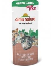"Almo Nature Green Label Mini Food Salmon Fillet - лакомство для кошек ""Филе лосося"" (3 г)"
