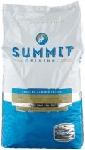 """Summit Original Reduced Calorie - сухой корм для собак """"Три вида мяса"""" с цыпленком, ягненком и лососем """"Контроль веса"""" (12,7 кг)"""