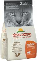 Almo Nature Holistic Maintenance - сухой корм для взрослых кошек с курицей и рисом