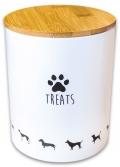 КерамикАрт Treats - керамический бокс для хранения лакомств для собак (1300 мл)