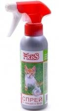 Ms. Kiss - Спрей от блох и клещей для кошек (200 мл)