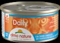 Almo Nature Daily mousse - мусс для кошек с тунцом и треской (85 г)