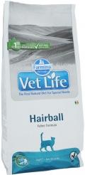 """Farmina Vet Life Cat Hairball - сухой диетический корм для взрослых кошек """"Выведение комочков шерсти"""""""