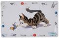 """Trixie - коврик под миску """"Кошка и мышка"""" (44 x 28 см)"""