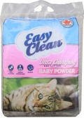 Easy Clean Baby powder - наполнитель комкующийся с ароматом детской присыпки