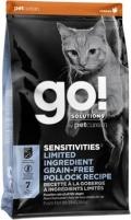 Go! Solutions Sensitivities - сухой беззерновой корм для котят и кошек с чувствительным пищеварением с треской