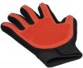 V.I.Pet - Перчатка силиконовая с шипами на руку малая (красная)
