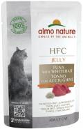 Almo Nature HFC Jelly - паучи для кошек с тунцом и мальками в желе (55 г)