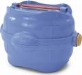 Imac Easy Go - контейнер с герметичной крышкой для корма и воды (1,5 л) синий