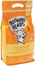 """Meowing Heads Fat cat slim - сухой корм для кошек с избыточным весом """"Худеющий толстячок"""" с курицей и лососем"""