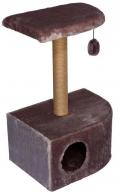 Дарэлл - Домик-когтеточка угловой, сизаль (36 x 49 x 73 см)