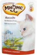 """Мнямс - пауч для кошек """"Косидо по-Мадридски"""" с говядиной и морковью (85 г)"""