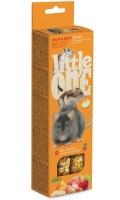 Little One - Палочки для хомяков, крыс, мышей и песчанок с фруктами и орехами (2 по 60 г)