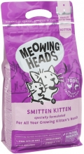 "Meowing Heads Smitten kitten - сухой корм для котят ""Восторженный котенок"" с курицей и рисом"