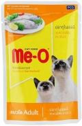 Me-O Adult - паучи для кошек с макрелью в желе (80 г)