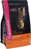 Eukanuba Cat Adult - сухой корм для взрослых кошек с домашней птицей
