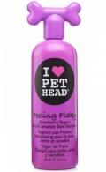 """Pet Head Feeling Flaky - шампунь для сухой и чувствительной кожи собак """"Клубнично-йогуртовый"""" (475 мл)"""