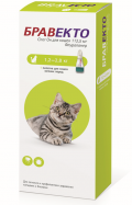 Бравекто капли спот-он от блох и клещей для кошек 1,2 - 2,8 кг (112,5 мг)