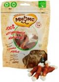 Мнямс - лакомство для собак кальцинированные косточки с утиным мясом (100 г)