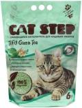 """Cat Step Tofu Green Tea - комкующийся растительный наполнитель """"Зеленый чай"""""""