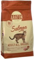 Araton Salmon - сухой корм для взрослых кошек с лососем