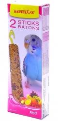 Benelux Sticks budgies - Лакомые палочки с фруктами для волнистых попугайчиков (2 шт.)