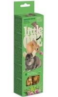 Little One - Палочки для морских свинок, кроликов и шиншилл с луговыми травами (2 по 55 г)