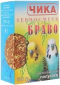 """Чика - Зерносмесь для волнистых попугаев """"Браво"""" (500 г)"""