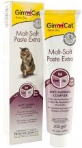 """GimCat Malt-Soft Extra - паста для вывода шерсти для кошек """"Экстра"""""""