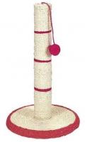 N1 - когтеточка столбик с мячиком (20 x 40 см)
