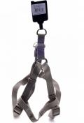 Papillon Nylon harness - шлейка для собак нейлоновая серая